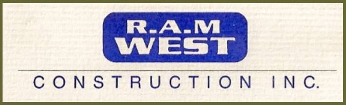 R.A.M. West Construction Logo