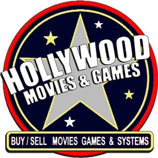 Hollywood Movies and Games logo