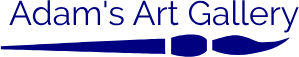 Adam's Art Gallery logo