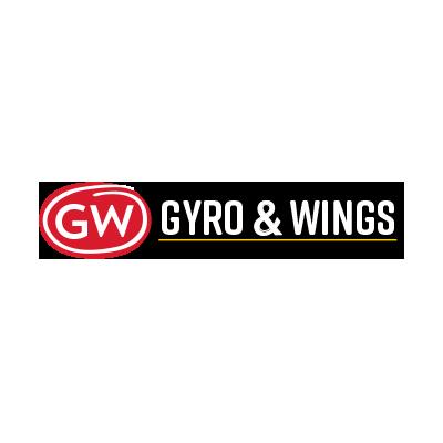 GW Gyro & Wings Logo