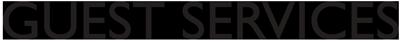 Guest Services logo