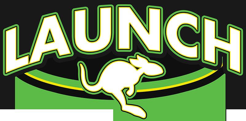 Launch Trampoline Park logo