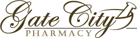 Gate City Pharmacy logo
