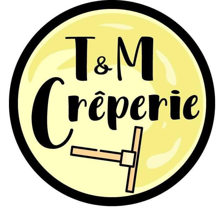 T&M Creperie logo