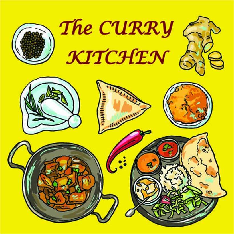 the curry kitchen logo