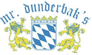 Mr. Dunderbak's logo