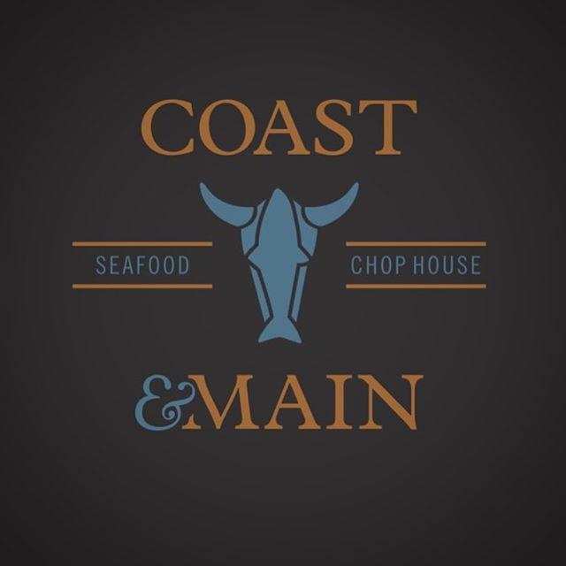 Coast & Main Seafood and Chop House logo