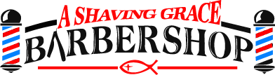 A Shaving Grace Barbershop Logo
