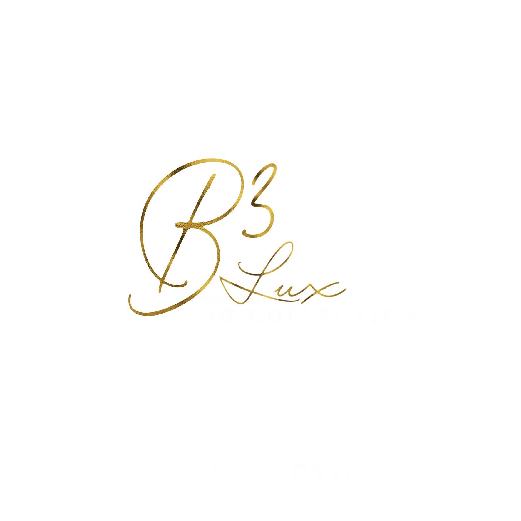 B3 Lux Hair Vending Logo