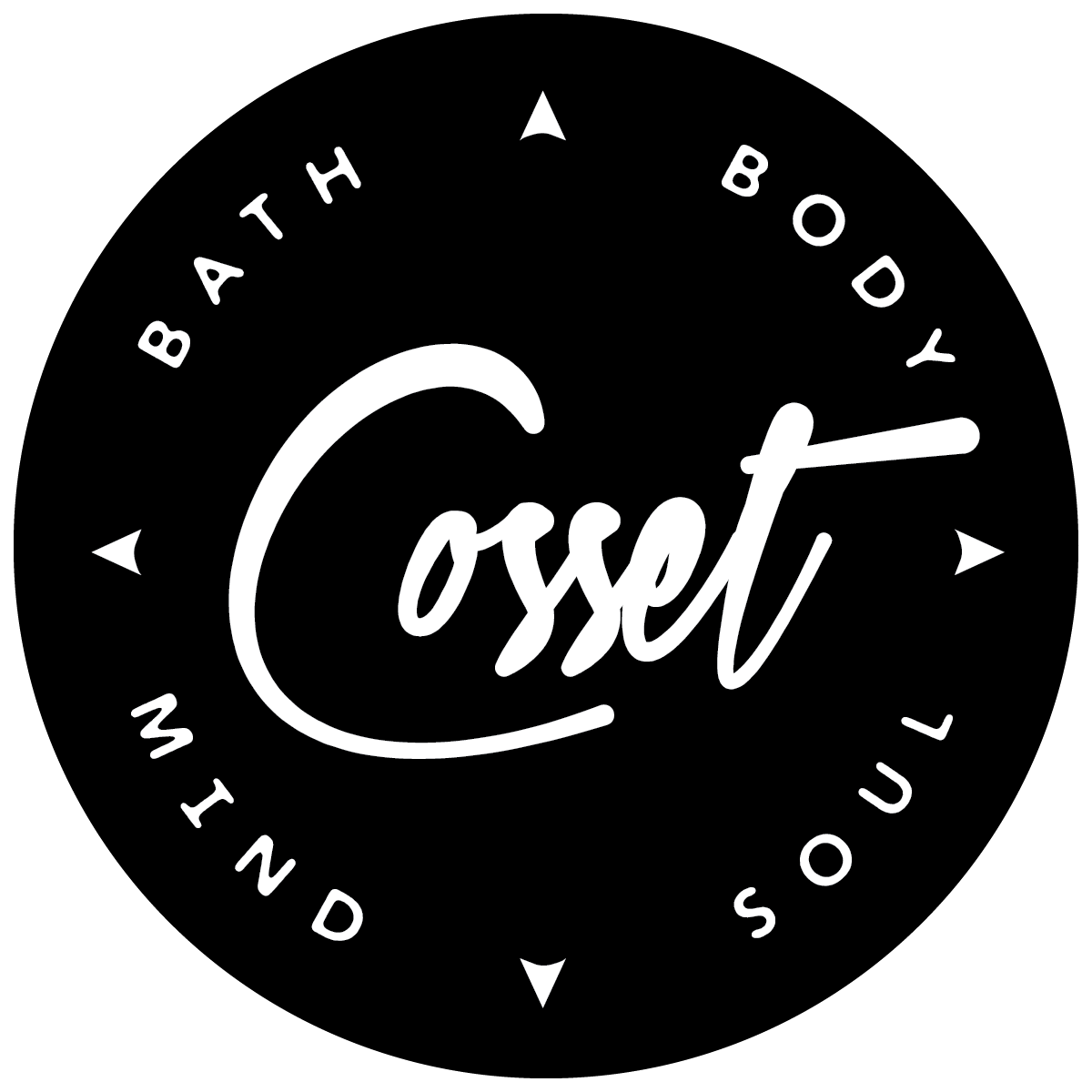 Cosset Bath and Body logo