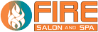 Fire Salon and Spa logo