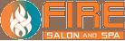 Fire Salon and Spa logo