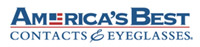 America's Best Contacts and Eyeglasses logo