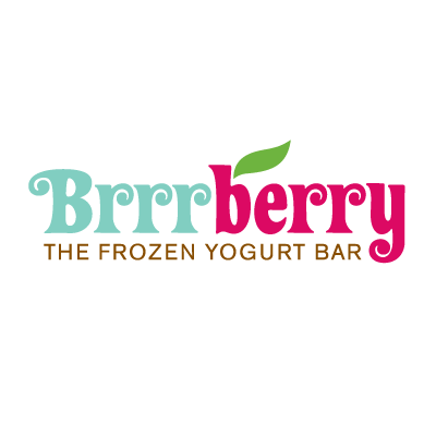 Brrrberry Yogurt Logo
