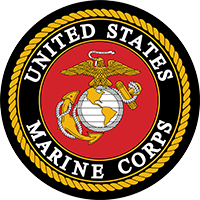 U.S. Marines Recruiting Station logo