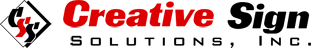 Creative Sign Solutions logo