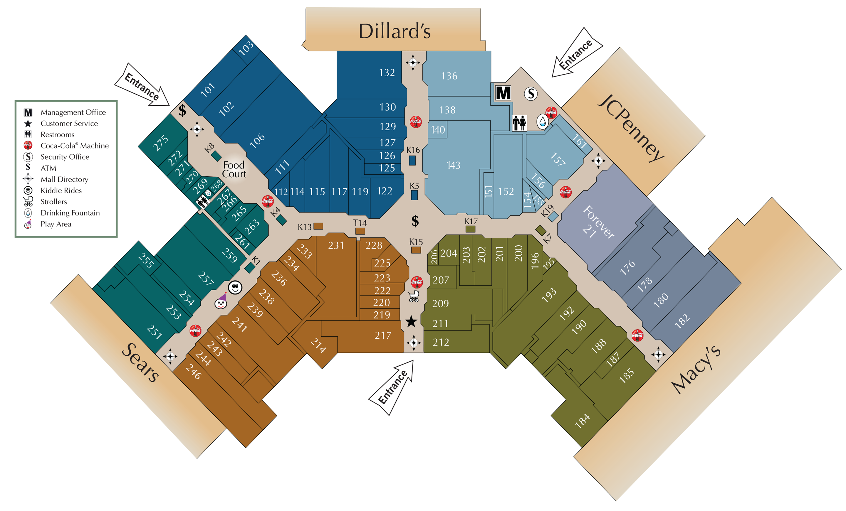 Mall directory acadiana mall for Jewelry stores in slidell louisiana