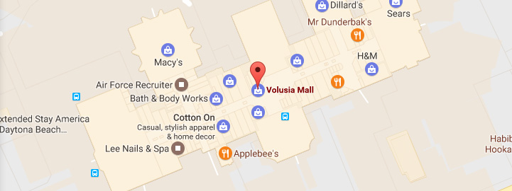 Mall Directory | Volusia Mall