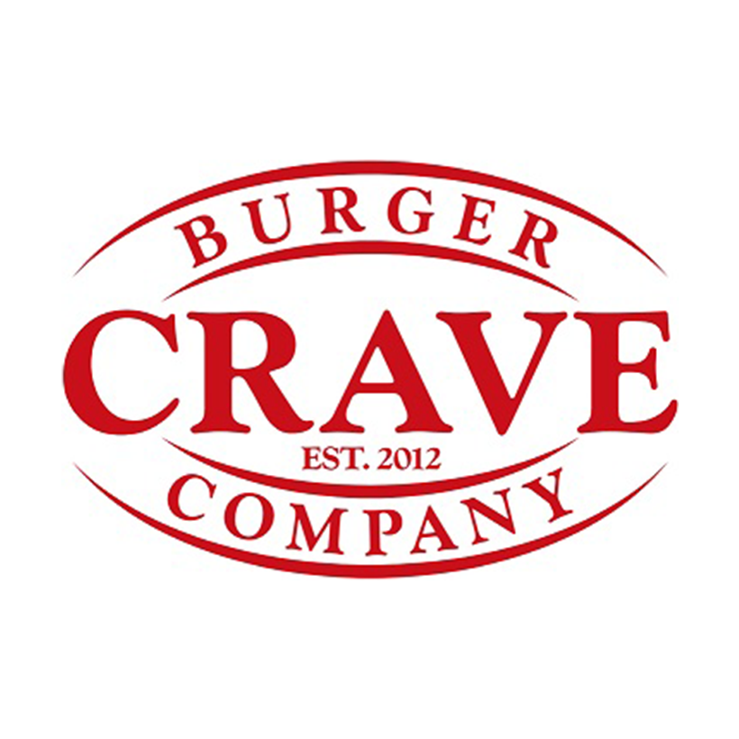 Crave Burger Company logo