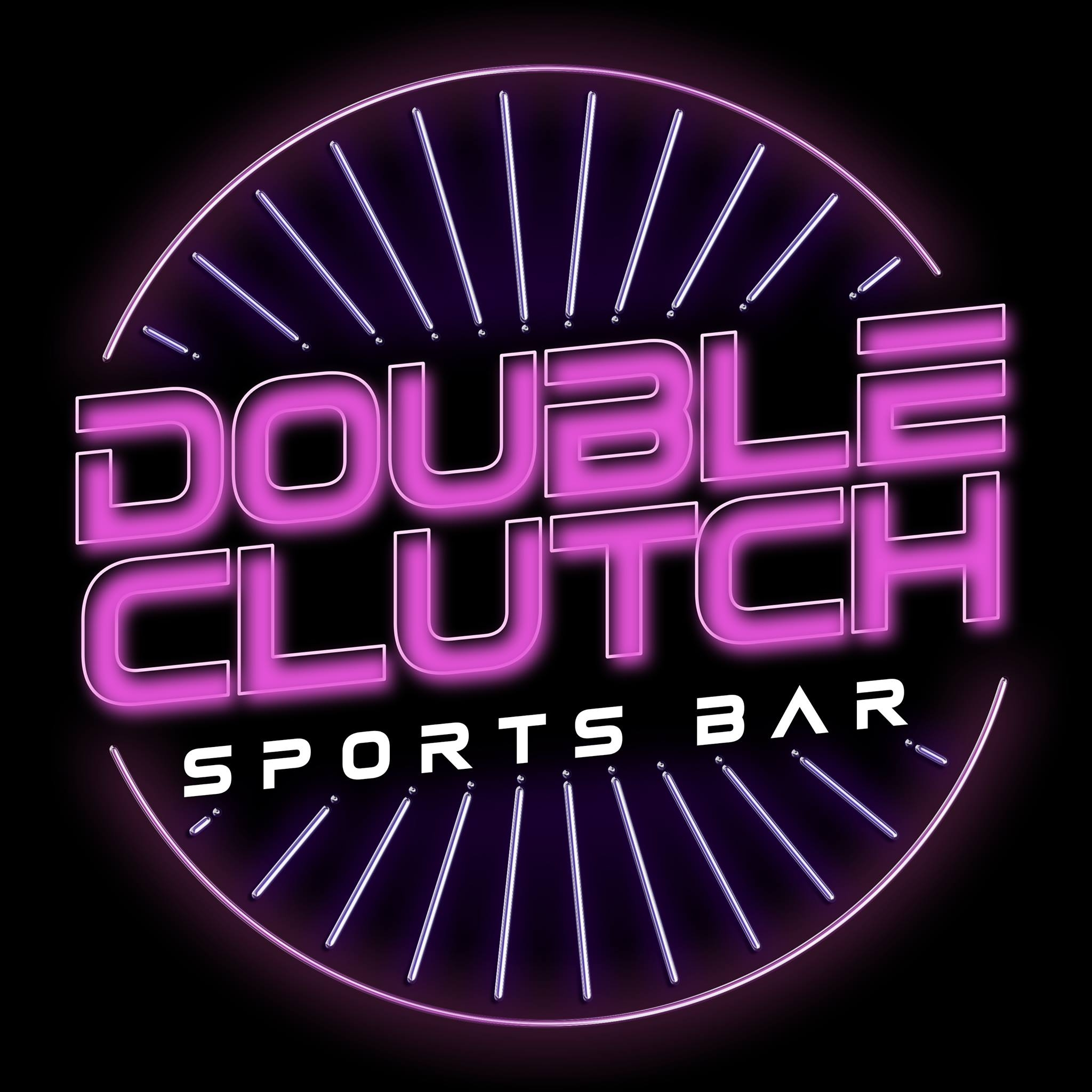 Double Clutch Sports Bar Logo