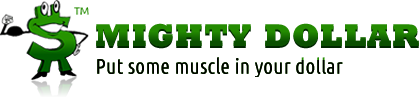 Mighty Dollar logo