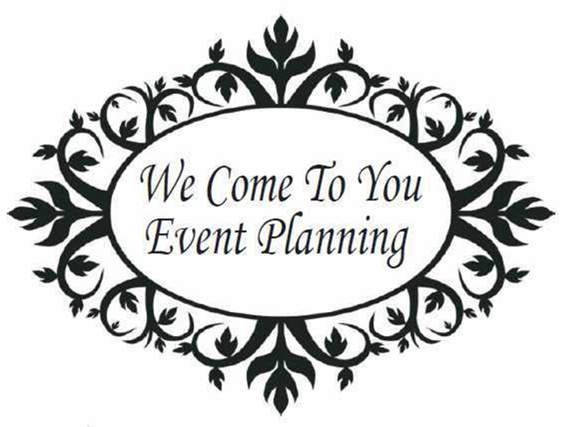 We Come To You Event Planning logo
