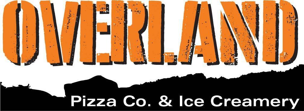 Overland Pizza Co. & Ice Creamery Logo