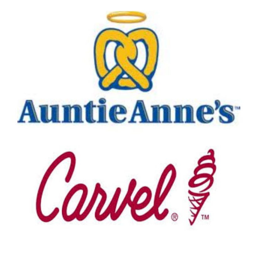 Auntie Anne's / Carvel Ice Cream logo