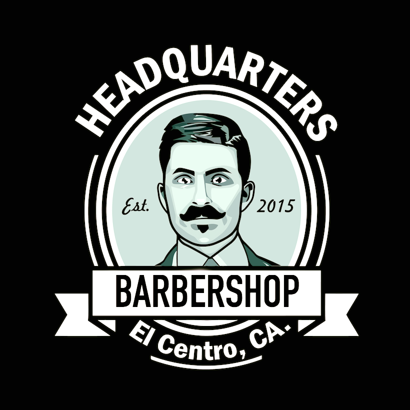 Headquarters Barber Shop logo