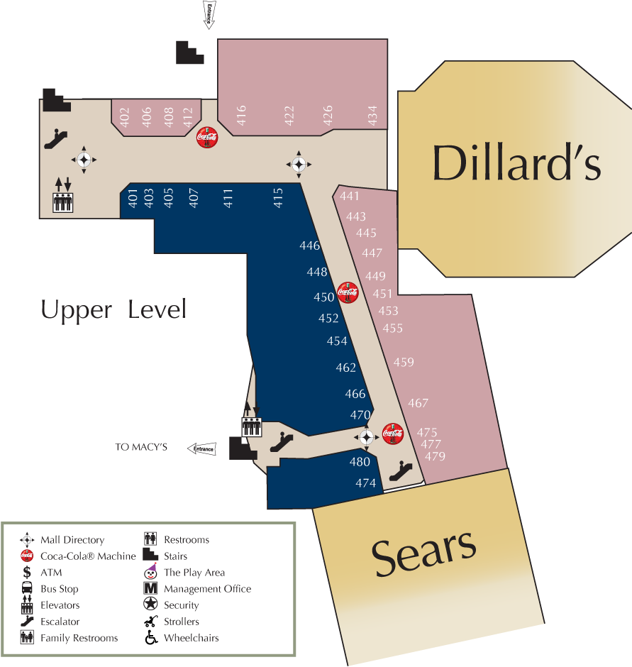 Mall Directory South County Center - Florida mall map