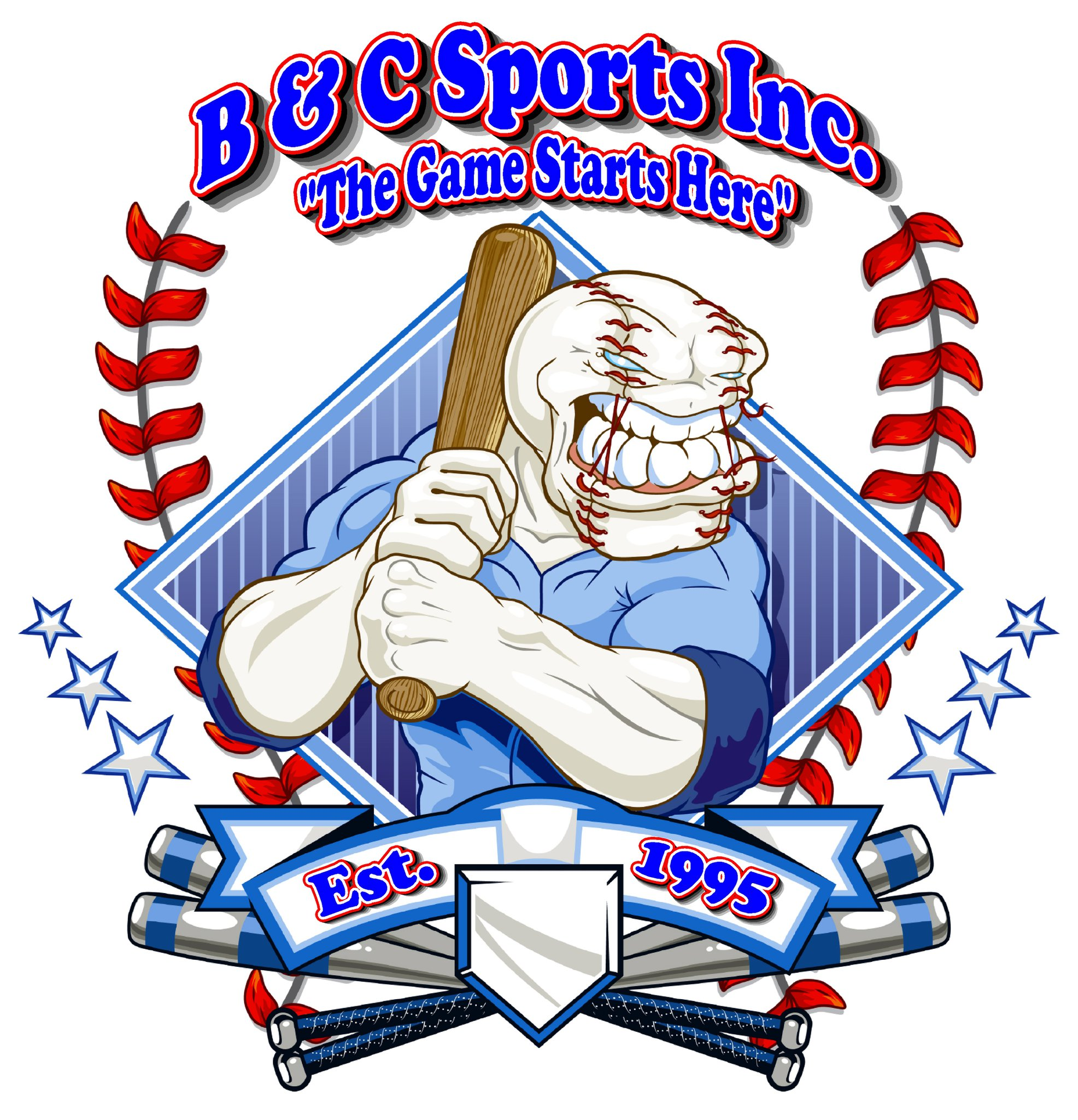 B&C Sports Collectibles logo