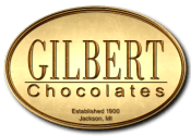 Gilbert Chocolates logo