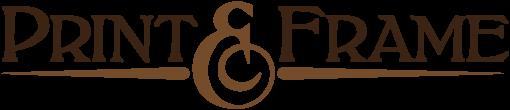 Print and Frame logo