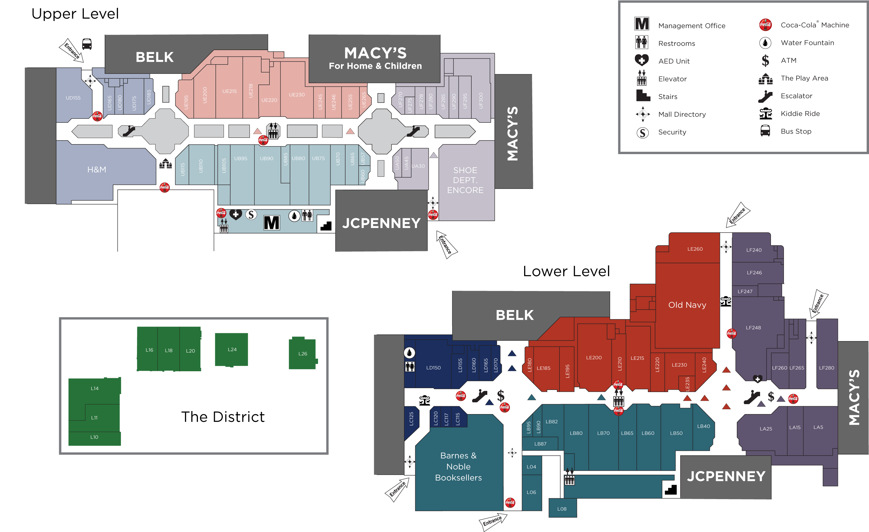 Valley View Mall Map