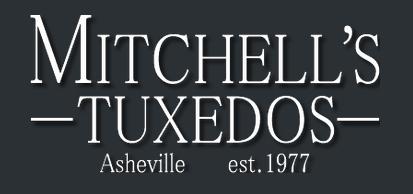 Mitchell's Tuxedos logo