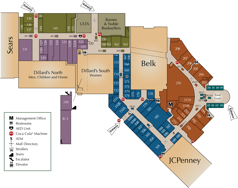 Asheville Mall Map Asheville Mall Map | compressportnederland Asheville Mall Map
