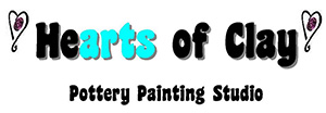 Hearts of Clay logo