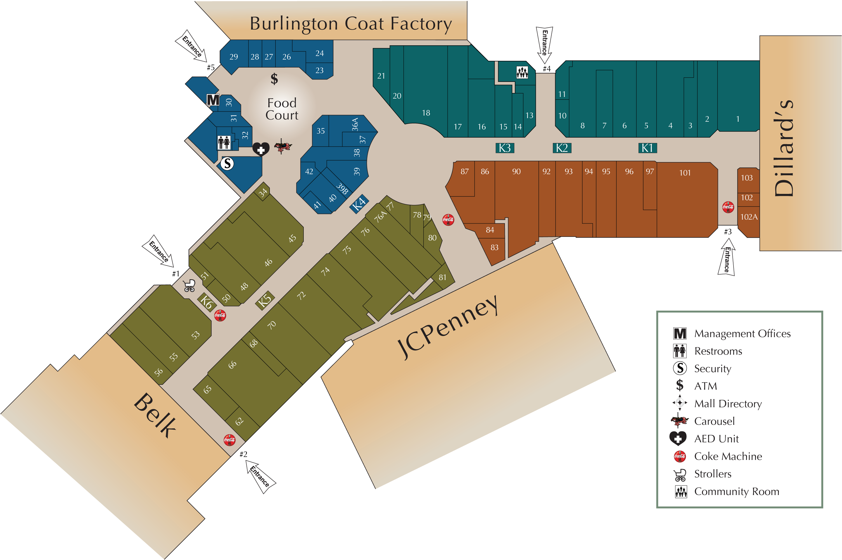 Wiregrass Mall Map Wiregrass Mall Map | compressportnederland Wiregrass Mall Map