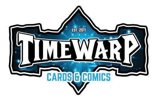 Timewarp Cards & Comics logo