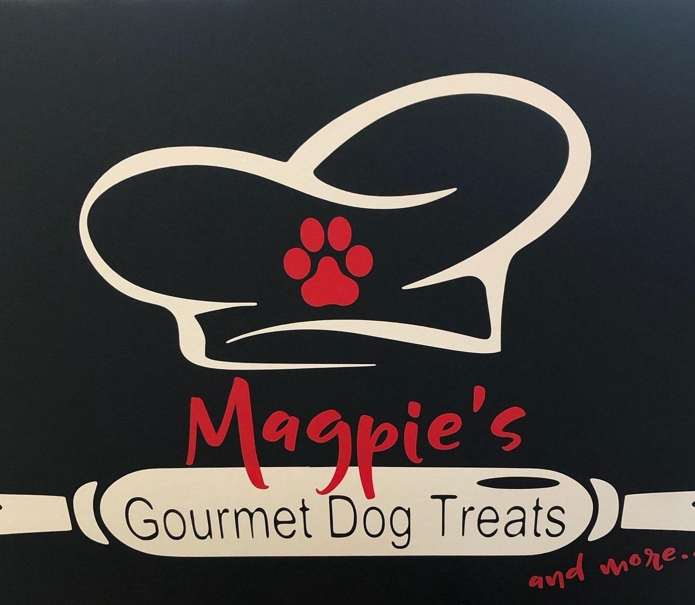 Magpies Gourmet Dog Treats Logo