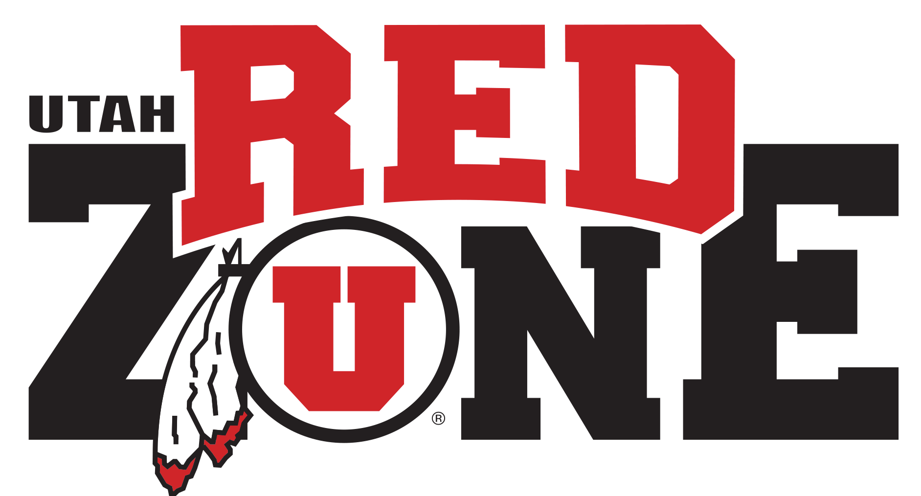 U of U Red Zone logo
