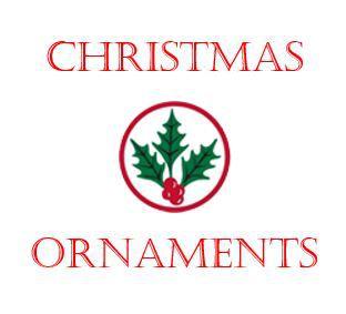 Christmas Ornaments Logo