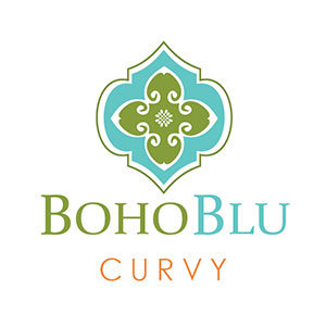 BohoBlu Curvy logo