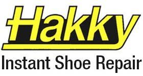 Hakky Instant Shoe Repair Logo